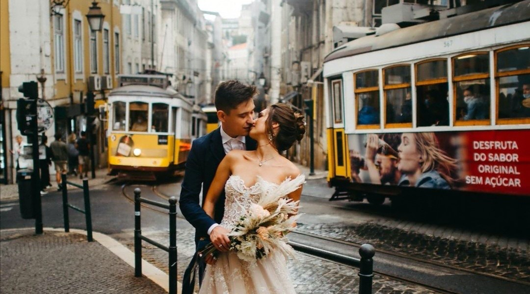 Couple Session Videographer in Lisbon Portugal
